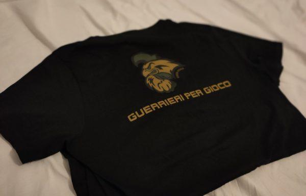 T-Shirt commemorativa 20 anni GxG. Colore Nero
